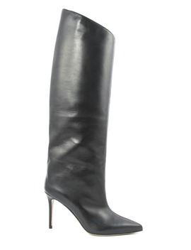 Alexandre Vauthier Alex Knee High Boots In Black Leather by Alexandre Vauthier