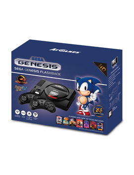 Sega Genesis Flashback Hd, 85 Built In Games, Atgames, Refurbished/Preowned by Action & Adventure Games