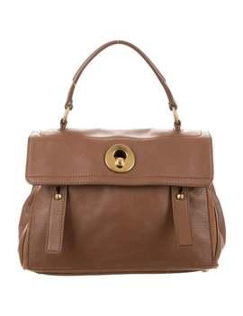 Leather Handle Bag by Saint Laurent