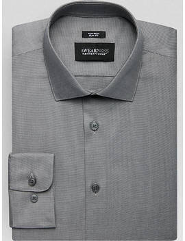 Awearness Kenneth Cole Charcoal                            Slim Fit                                                   Dress Shirt by Awearness Kenneth Cole