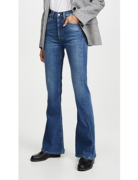 The Kingsley High Rise Comfort Stretch Flare Jeans by Boyish