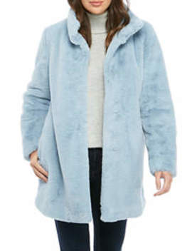 Women's Faux Fur Coat by Calvin Klein