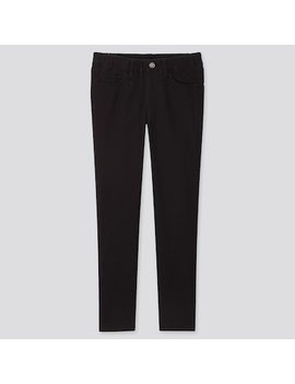 Kids Ultra Stretch Slim Fit Pants by Uniqlo