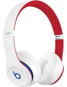 Solo³ Beats Club Collection Wireless On Ear Headphones   Club White by Beats By Dr. Dre