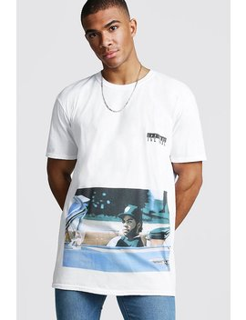 Oversized Ice Cube Rolling License T Shirt by Boohoo