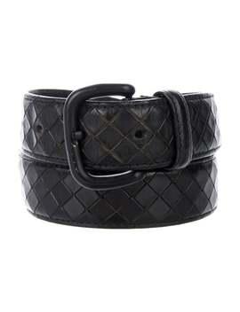 Intrecciato Leather Belt by Bottega Veneta