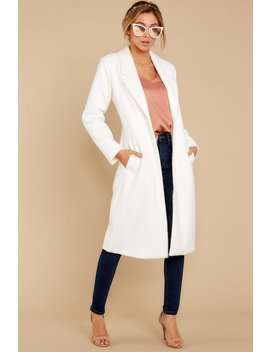 So So Ho White Coat by On Twelfth