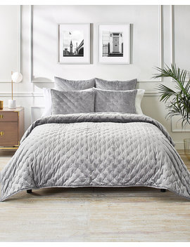 Velvet Bow Full/Queen Coverlet by Ted Baker London