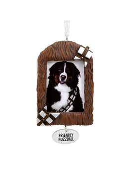 Star Wars™ Chewbacca™ Pet Photo Frame Hallmark Ornament by Hallmark