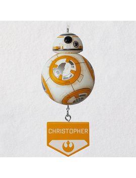 Star Wars™ Bb8™ Personalized Ornament by Hallmark