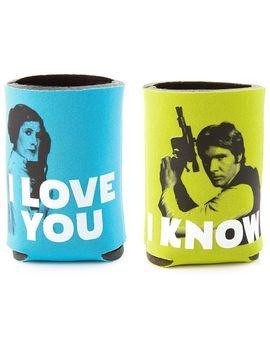 Star Wars™ Han Solo™ And Princess Leia™ Drink Sleeves, Set Of 2 by Hallmark
