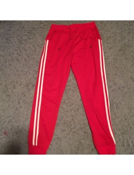 Red Joggers Preowned/Used by Laura's Boutique