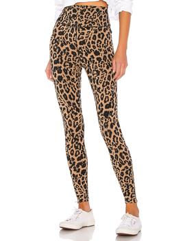 Leopard Zipper Legging by Lna