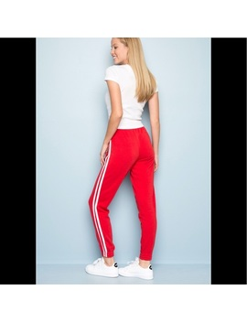Brandy Melville Red Rosa Sweatpants Nwt/New by Brandy Melville