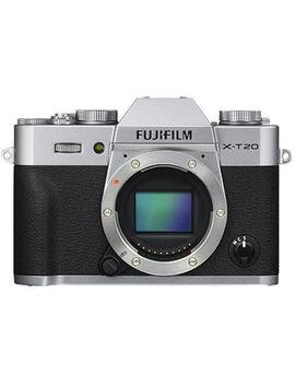 Fujifilm X T20 Mirrorless Camera [4 K Video] (Body Only/Silver) by Fujifilm