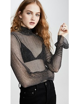 Esmee Mock Neck Top by Habitual
