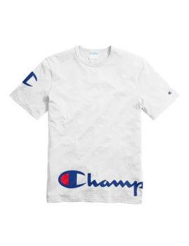 Champion Life® Men's Heritage Tee, Wraparound Logo by Champion