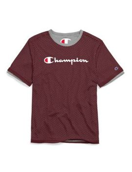 Champion Men's Reversible Mesh Tee by Champion