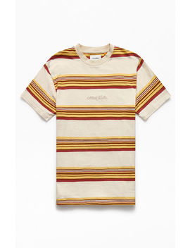 Tcss Donnie Striped T Shirt by Pacsun