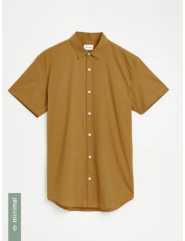Good Cotton Classic Shirt In Yellow by Frank & Oak