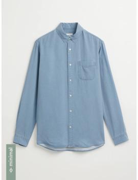 Tencel® Lyocell Eco Dye Shirt In Blue by Frank & Oak