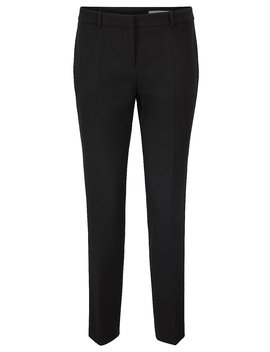 Regular Fit Pants In Portuguese Double Faced Fabric Regular Fit Pants In Portuguese Double Faced Fabric by Boss