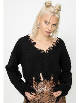 Montreux Distressed Sweater by Steele