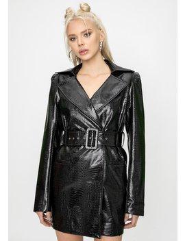 Veronica Snake Blazer Dress by Steele