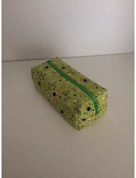 Science Pencil Case, Handsewn Bag, Convenient Pouch, Accessory Bag, Gift Idea, Makeup Bag by Etsy