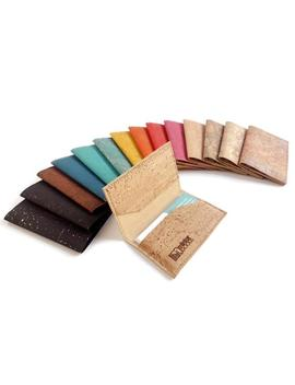 Cork Business Card Case, Many Colors. Business Card Holder. by Etsy