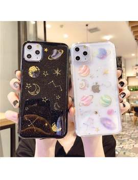 Starry Sky Transparent Phone Shell Soft Tpu Phone Case For I Phone 6 6 S 7 8 Plus X Xs Max Xr 11 Pro Max by Etsy