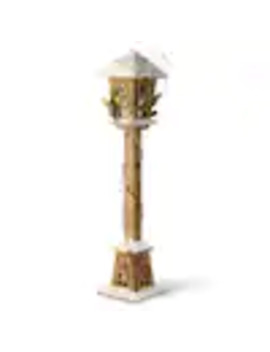 National Tree Company 32 In Wooden Street Lamp by Lowe's