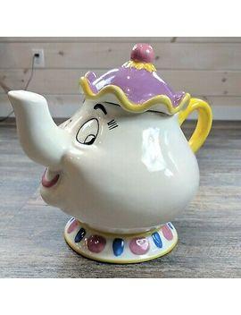 Mrs. Potts Beauty And The Beast Ceramic Cookie Jar Treasure Craft Disney by Treasure Craft