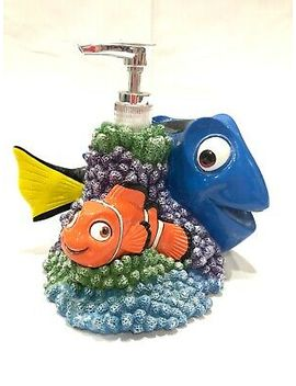 Finding Dory Lagoon Soap Dispenser With Nemo by Disney By Pixar