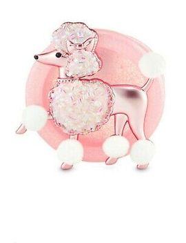 Bath & Body Works Scentportable Car Air Freshener Visor Clip Fancy Poodle Dog by Bath & Body Works