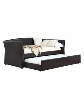 Coaster Furniture Contemporary Twin Daybed With Trundle by Coaster Furniture