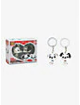 Funko Pocket Pop! Disney 101 Dalmatians Pongo & Perdita Vinyl Key Chain Set by Box Lunch