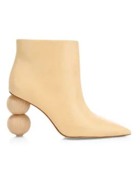 Cam Leather Booties by Cult Gaia