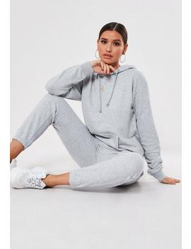 Stone Hoodie And Joggers Co Ord Set by Missguided
