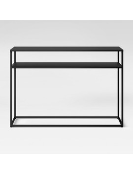 Glasgow Metal Console Table Black   Project 62™ by Shop Collections