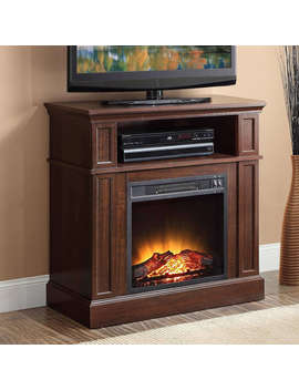 "Mainstays 31"" Media Fireplace For T Vs Up To 42"" by Mainstays"