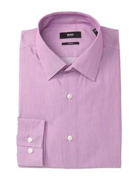 Isko X Trim Fit Dress Shirt by Boss