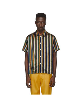 Multicolor Striped Craigy Shirt by Bode