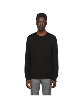 Black Cashmere Travel Sweater by Neil Barrett