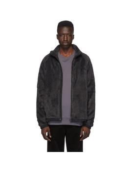 Grey Fleece Tycho Zip Jacket by Norse Projects