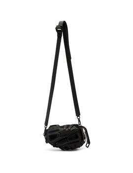 Black 12 Clutch Cross Body Bag by Innerraum