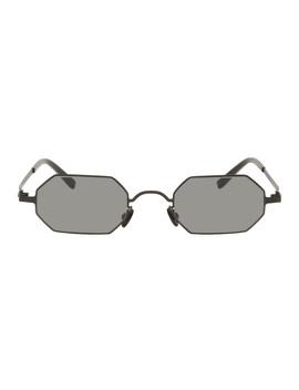 Black Mykita Edition Mmcraft004 Sunglasses by Maison Margiela