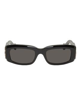 Black Paris Sunglasses by Balenciaga