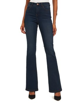 5 Pocket Boot Cut Denim Pants by Suzy Shier