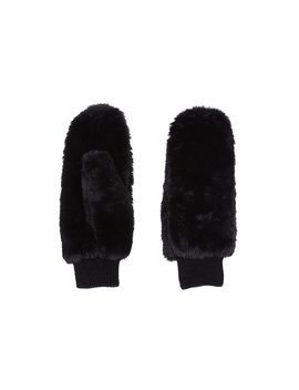 Faux Fur Mitten by Suzy Shier